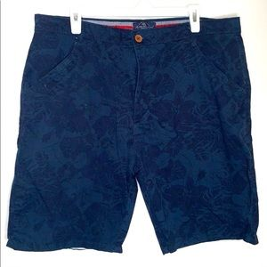 Across the Pond | Muted Floral | Pattern | shorts